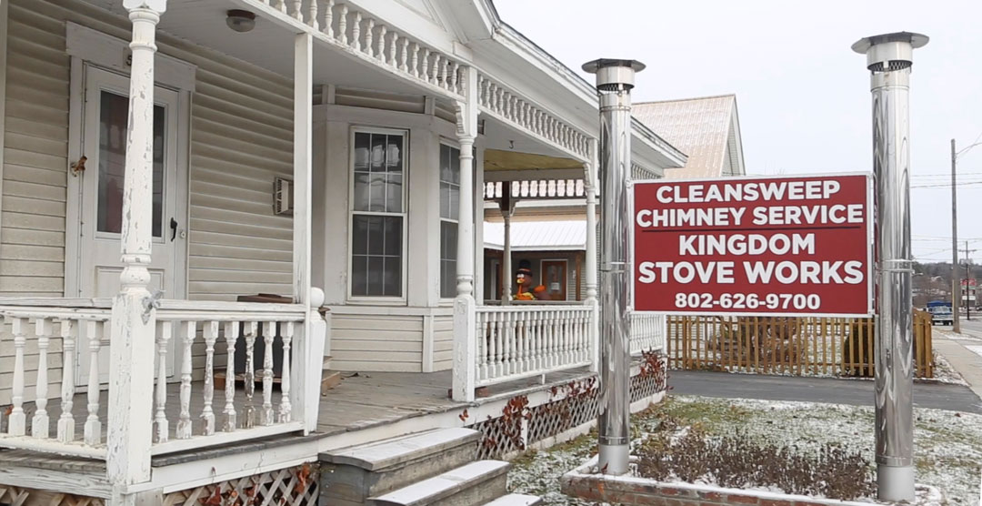Clean Sweep Chimney Service & Kingdom Stove Works | chimney inspection or stove installation Lyndonville, VT